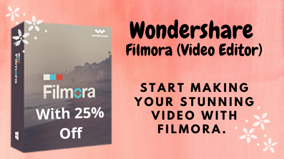 Discount on Wondershare Products 3